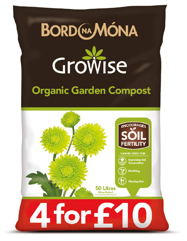 Growise range of soil improvers and conditioners for Organic soil uk