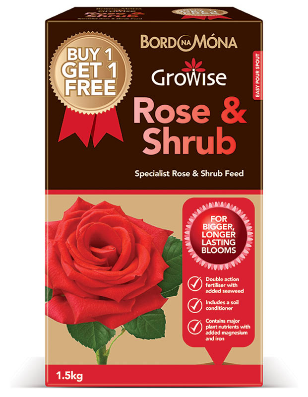 Growise Rose and Shrub Feed Specialist Fertiliser